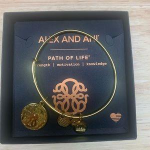 Alex and Ani Path of Life Bangle